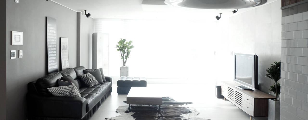 마르멜로디자인컴퍼니 Livings de estilo moderno