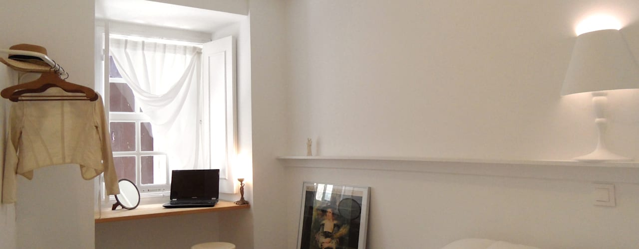mediterranean Bedroom by BL Design Arquitectura e Interiores