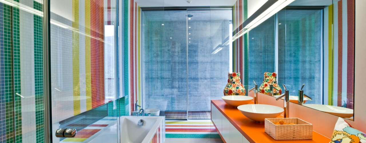 Bathroom by Viterbo Interior design, Eclectic