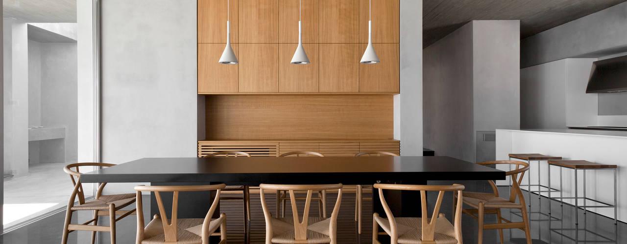 Mediterranean style dining room by Osa Architettura e Paesaggio Mediterranean