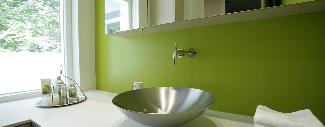 Luxe villa in Velp Van Hoogevest Architecten Moderne badkamers