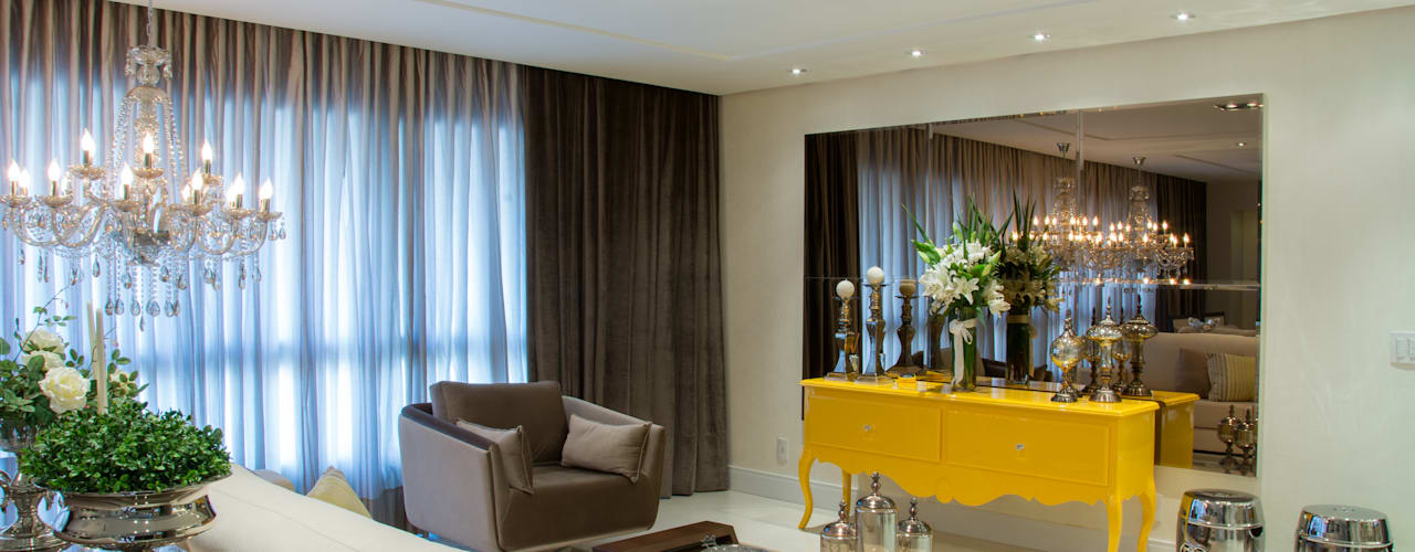 Michele Moncks Arquitetura Living room