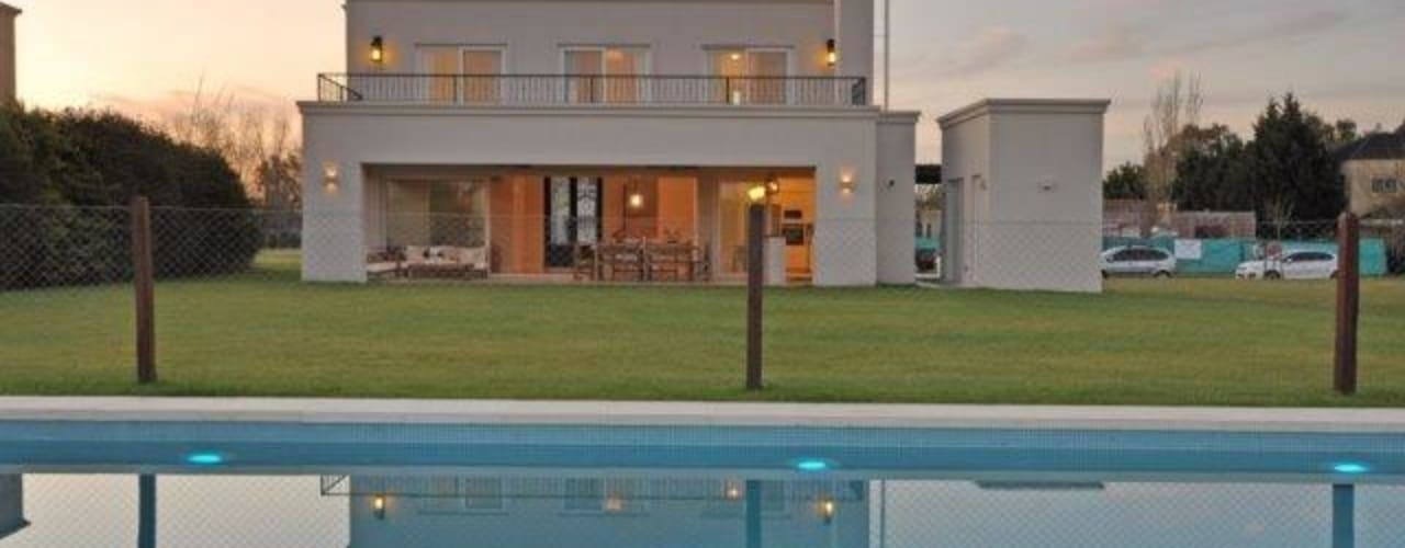 Maisons de style  par Parrado Arquitectura