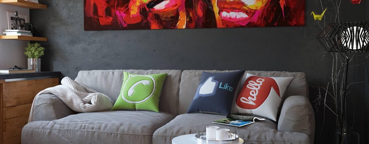 c1949e2611 10 sugestões de cores para pintar a parede da sua pequena sala