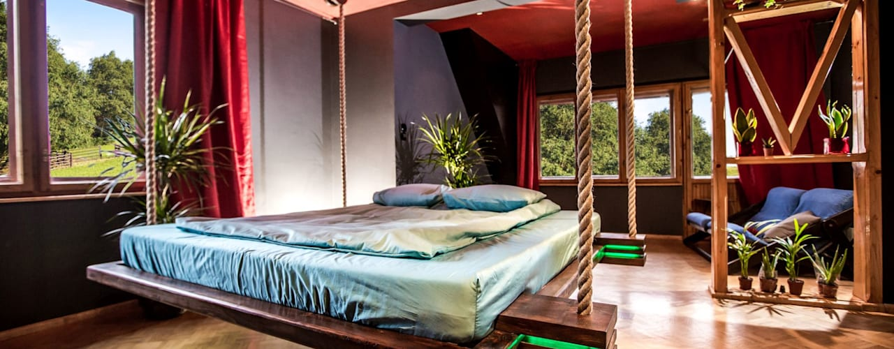 minimalist  by Hanging beds, Minimalist