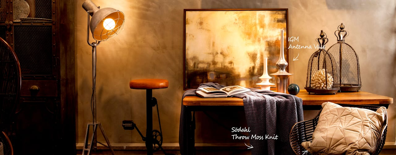 그림이 있는 공간: 마요 MAYO의  서재 & 사무실