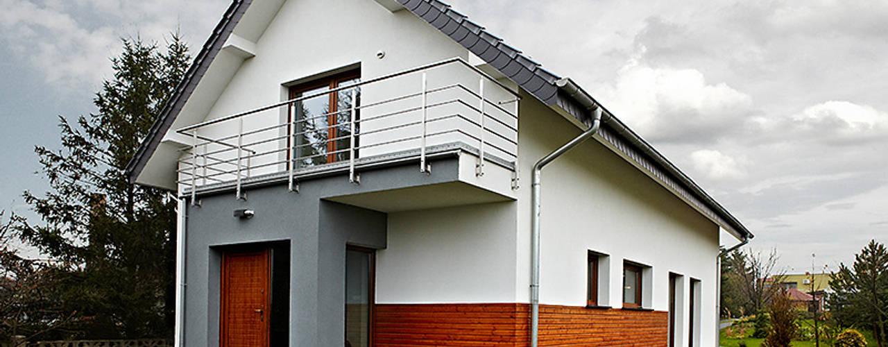 Maisons modernes par Biuro Projektów MTM Styl - domywstylu.pl Moderne