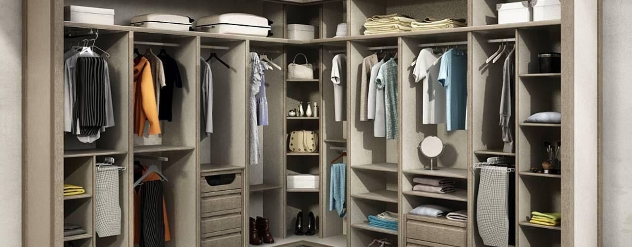 Closets de estilo  por TODOMADERA ESTEPONA