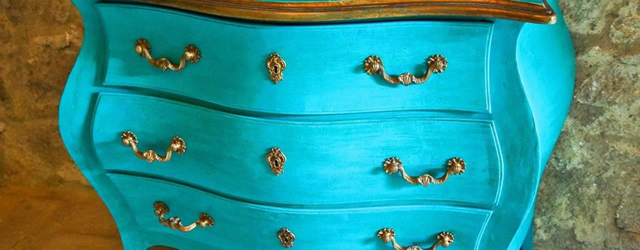 Comoda esmeralda por Restauro em Sintra Eclético