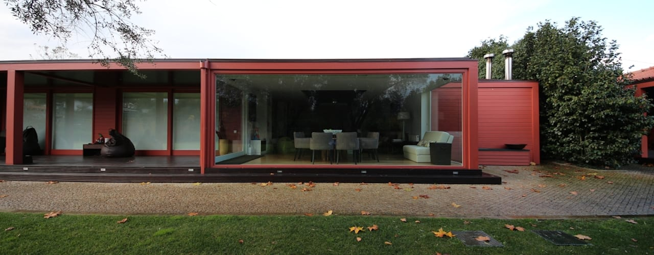 Projekty,  Domy zaprojektowane przez 3H _ Hugo Igrejas Arquitectos, Lda