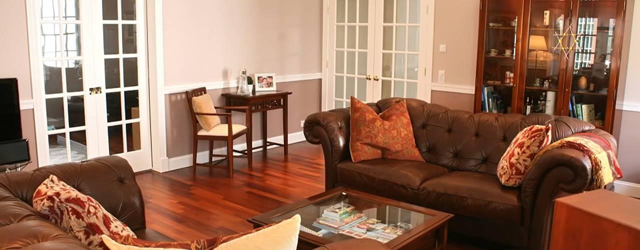 MANSION MINSTER THE WHITE HOUSE american dream homes gmbh Klassische Wohnzimmer