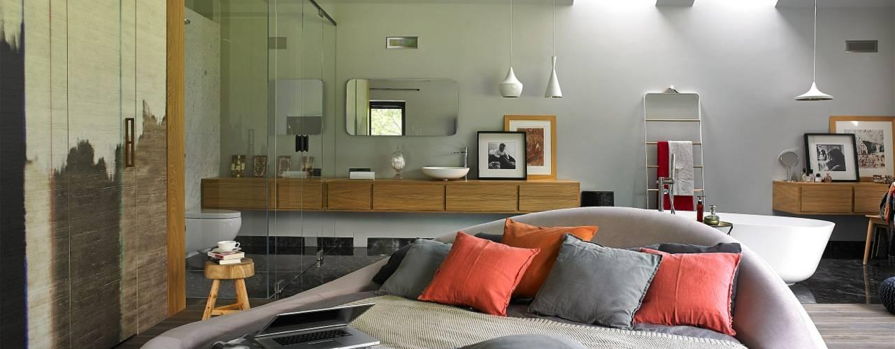stando interior design의  침실