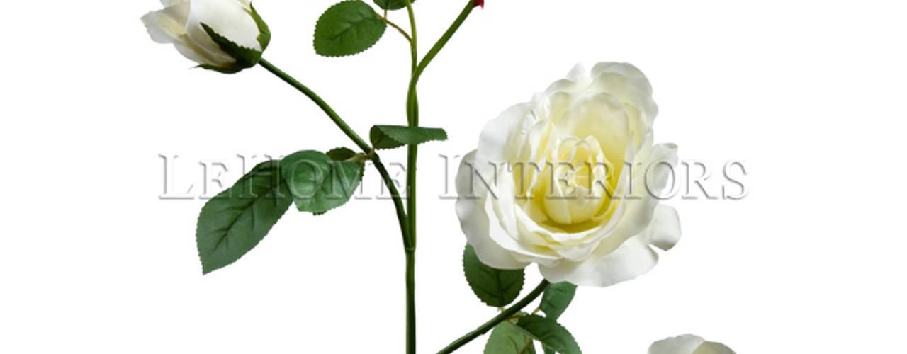 Цветок Шиповник V156: Гостиная в . Автор – LeHome Interiors,