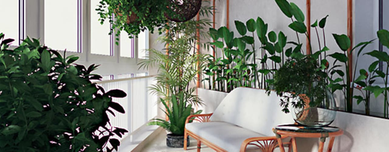 Modern Kış Bahçesi студия дизайна 'Крендель' Modern