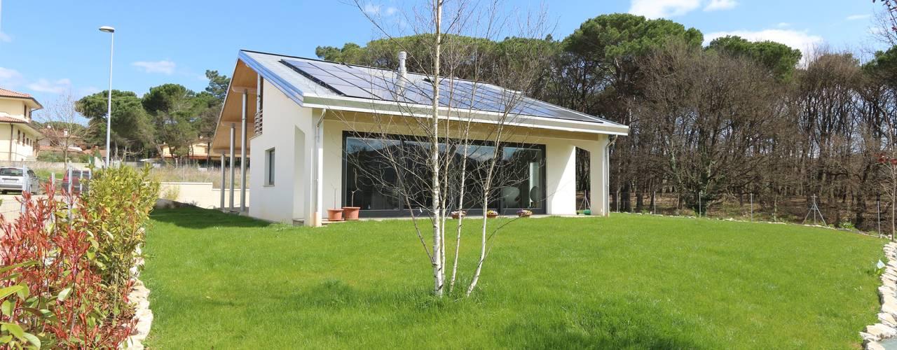 Casas modernas de marco carlini architetto Moderno