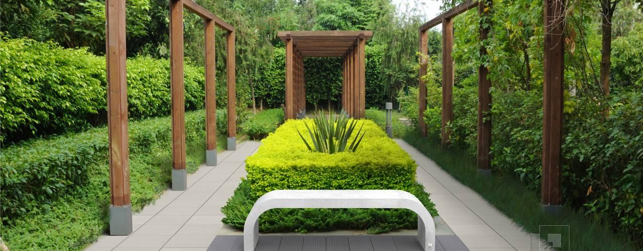Moderne tuinen van Modern Line Modern