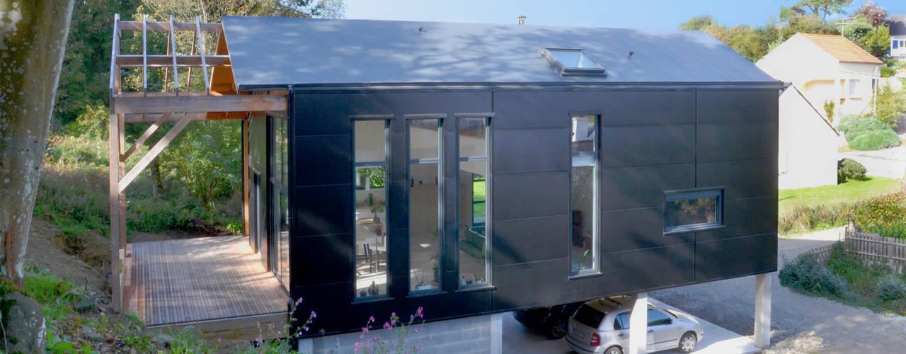 Projekty,  Domy zaprojektowane przez Bertin Bichet, Skandynawski