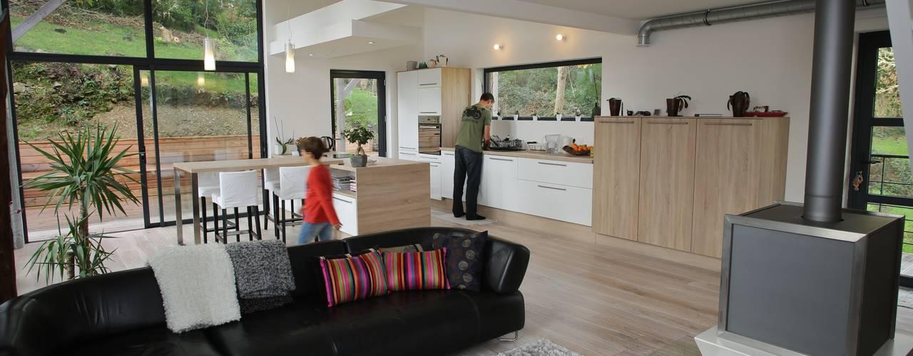 Livings de estilo escandinavo de Bertin Bichet Escandinavo