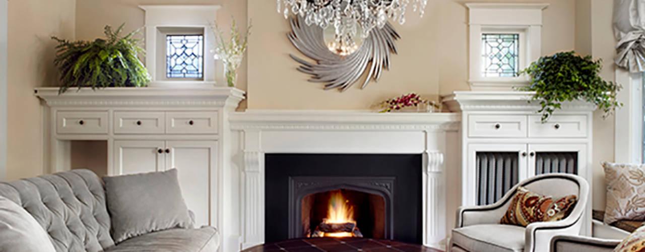 Maison Victorienne Salon classique par ANNA DUVAL Classique