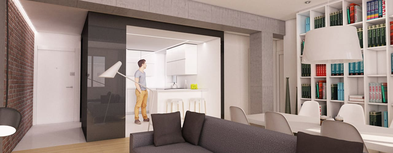 auno50 interiorismo의 현대 , 모던