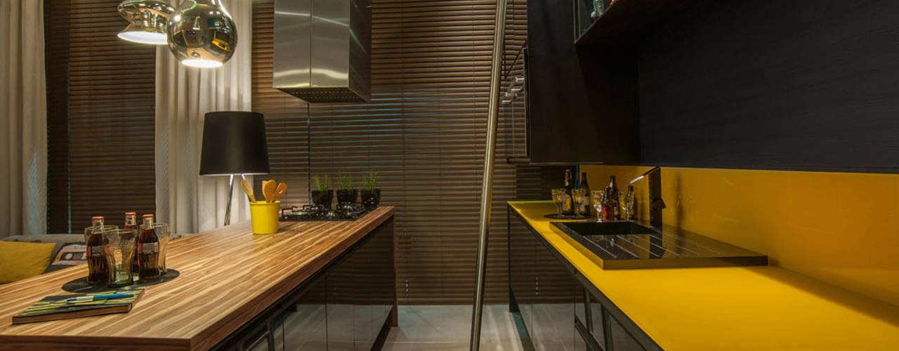 26 inspirierende wohnideen f r eine kleine k che. Black Bedroom Furniture Sets. Home Design Ideas