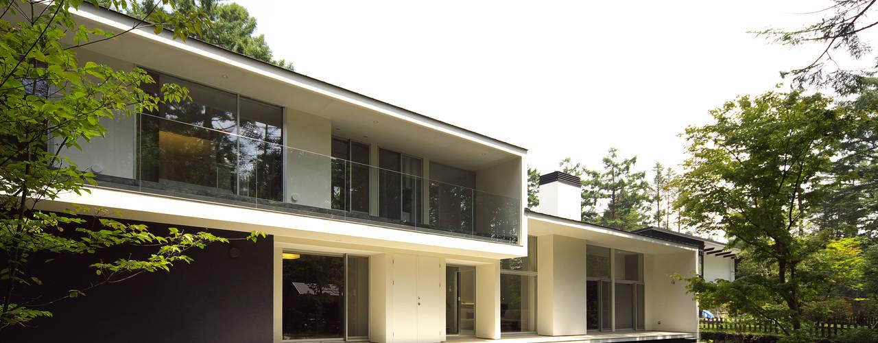 house in karuizawa モダンな 家 の 株式会社廣田悟建築設計事務所 モダン