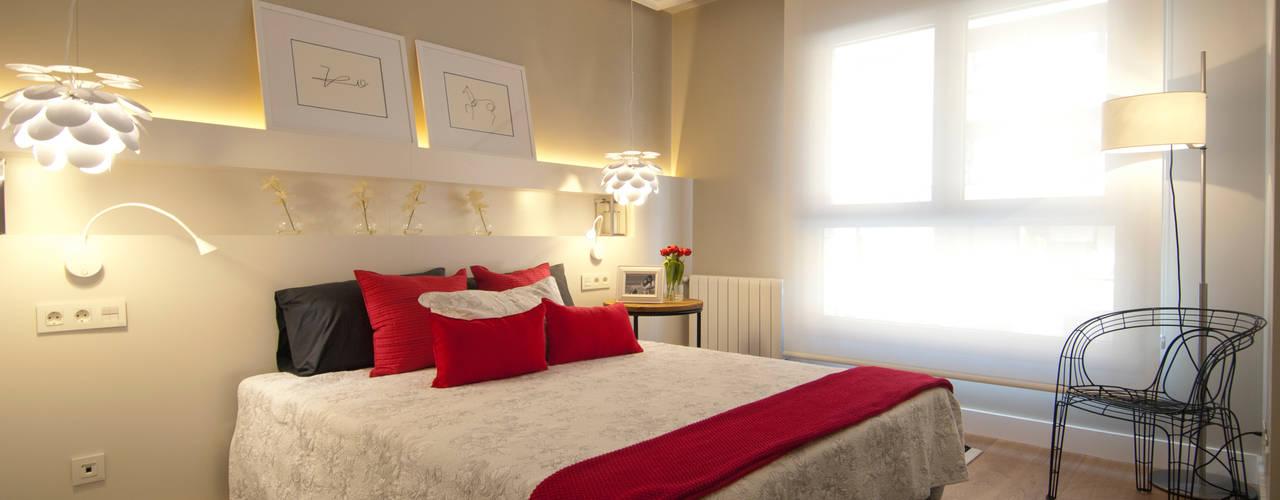 Dormitorios de estilo moderno de Sube Susaeta Interiorismo Moderno