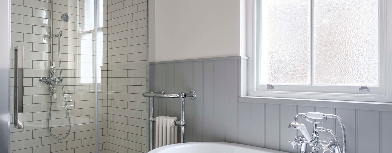 Kensal Rise House: classic Bathroom by Blankstone