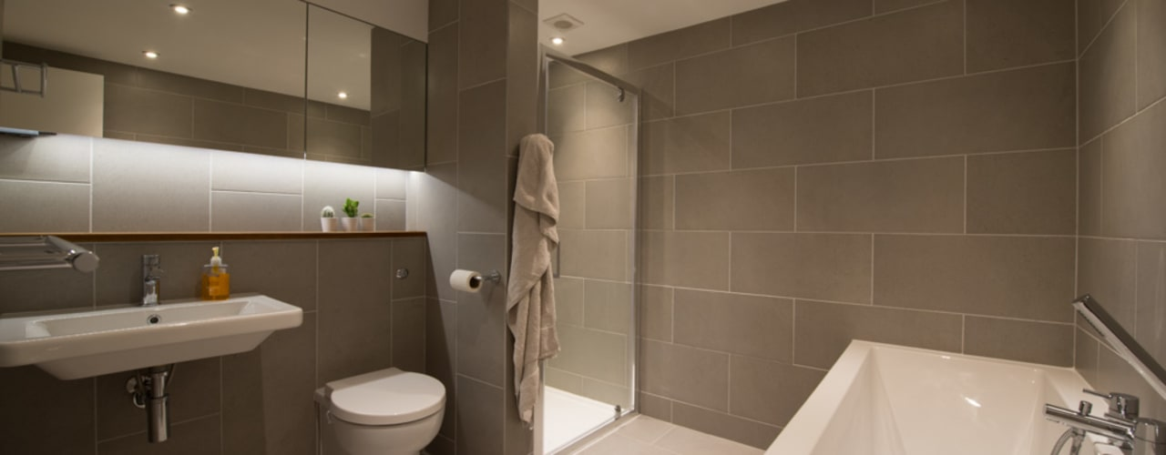 86 Pellarin Road ATOM BUILD LTD Salle de bain moderne