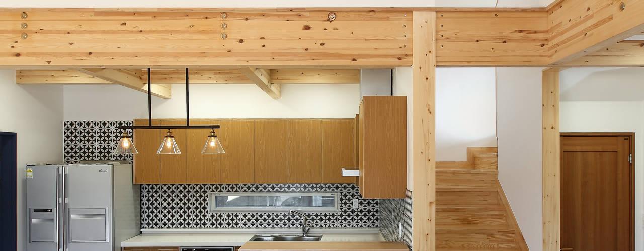 woodsun: modern tarz Yemek Odası