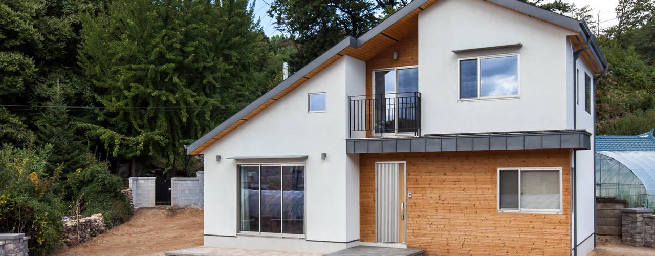 Maisons de style  par woodsun