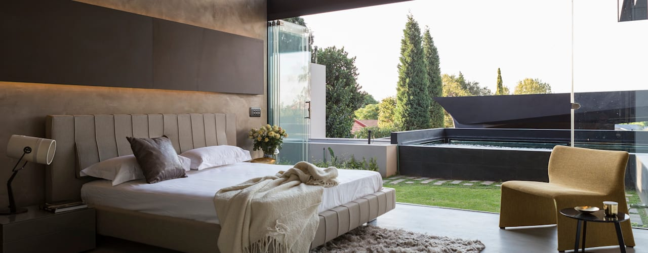Bedroom by Nico Van Der Meulen Architects