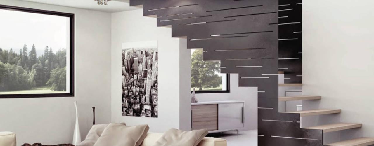 Moderne woonkamers van Class Iluminación Modern