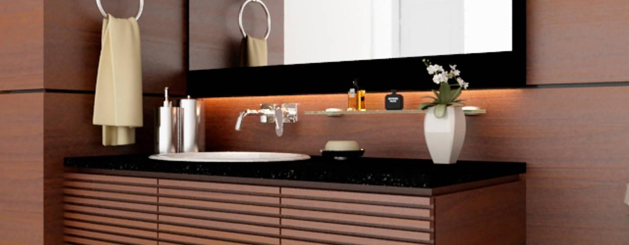 Remodelacion de Baño Baños modernos de Taller 03 Moderno