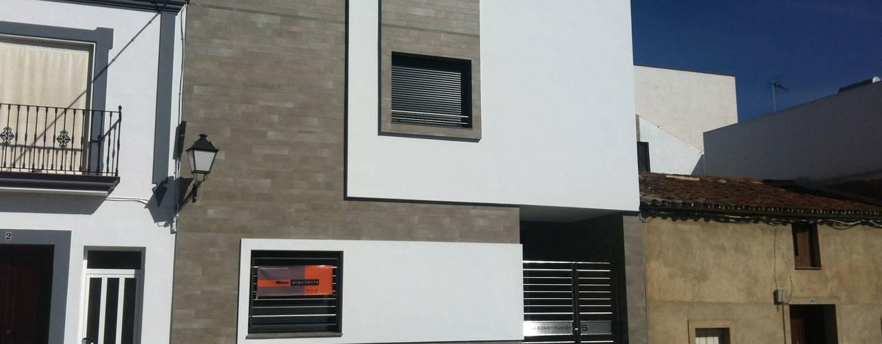 Casas modernas de EPG-Arquitécnico Moderno