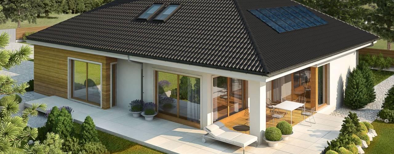 Casas modernas: Ideas, imágenes y decoración de Pracownia Projektowa ARCHIPELAG Moderno