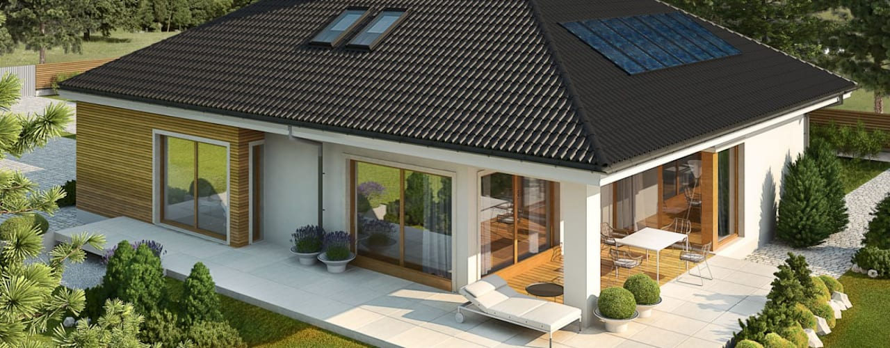 Pracownia Projektowa ARCHIPELAG Moderne huizen