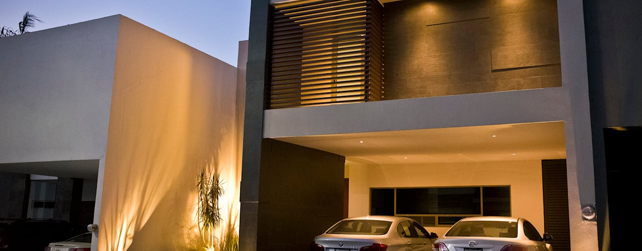 Casas de estilo  por fc3arquitectura