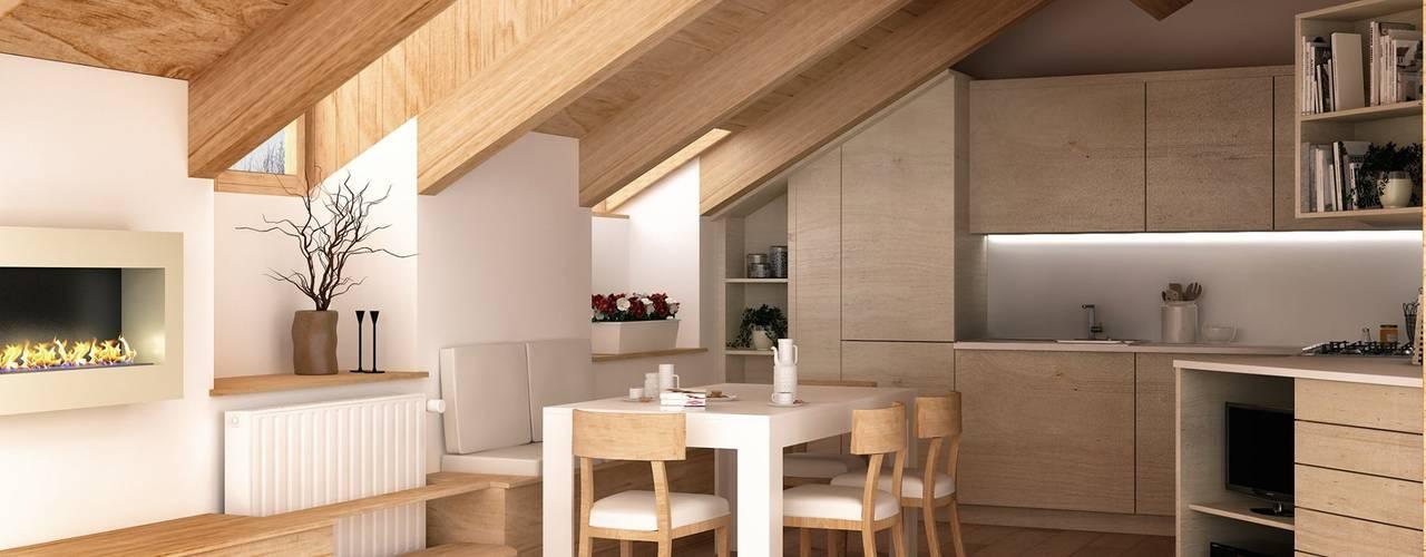 Sottotetto abitabile 32 idee per creare un ambiente speciale for Arredamento per sottotetto