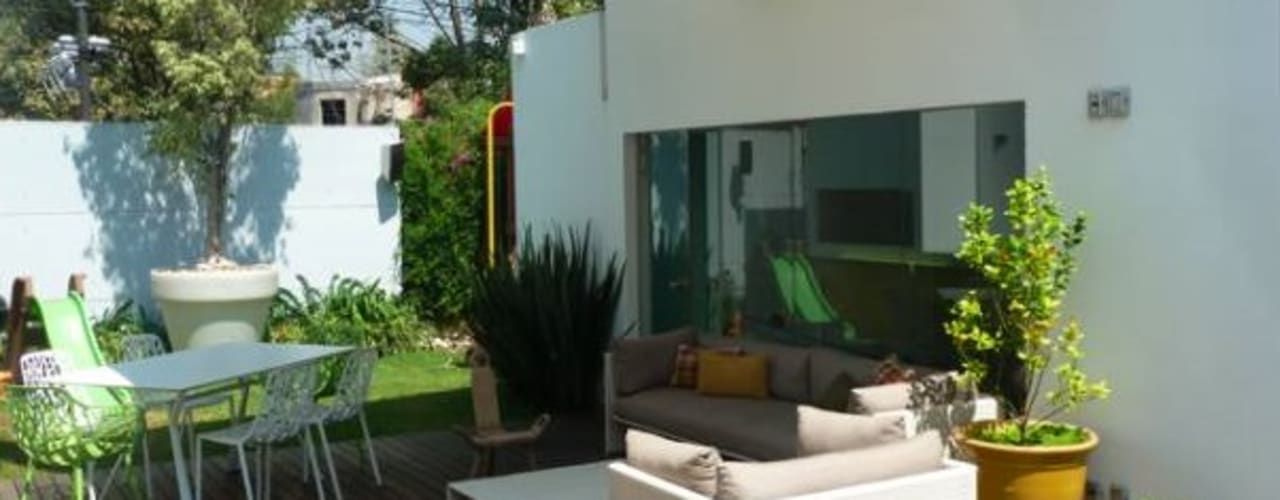 Casa Parral 62 simbiosis ARQUITECTOS Jardines modernos