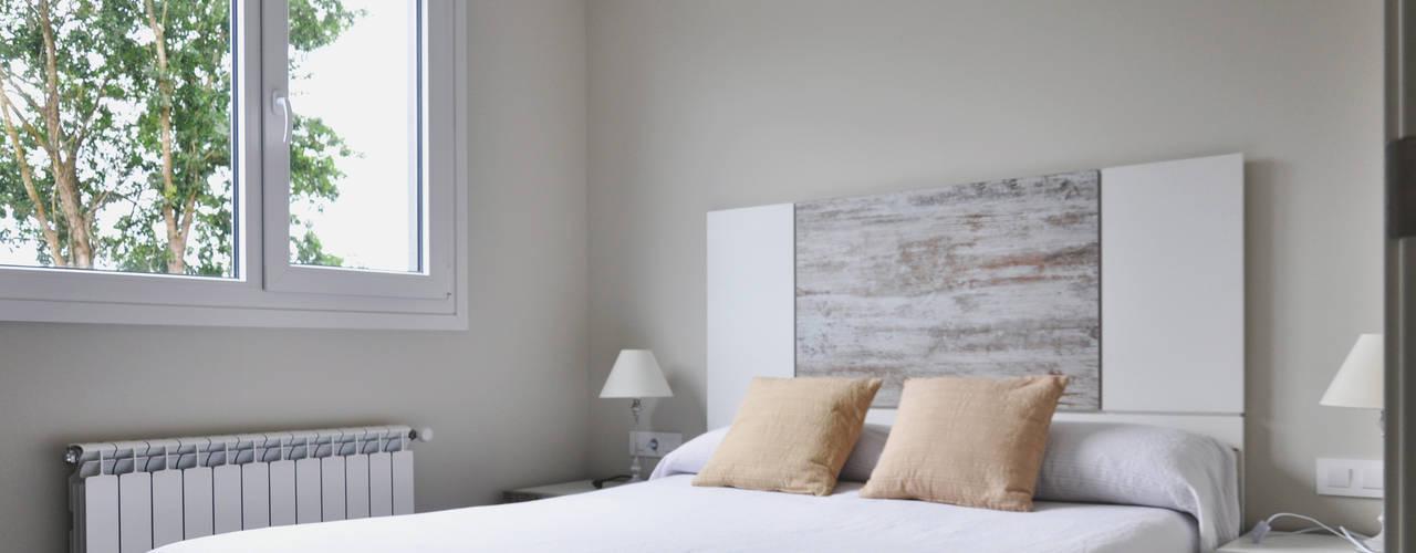 ห้องนอน by Casas Cube