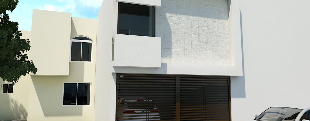 by Flores Rojas Arquitectura,