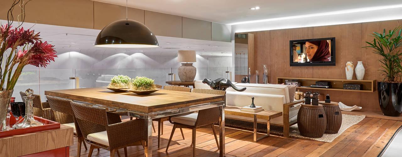 Decora Líder Brasília - Varanda Gourmet Salas de jantar modernas por Lider Interiores Moderno