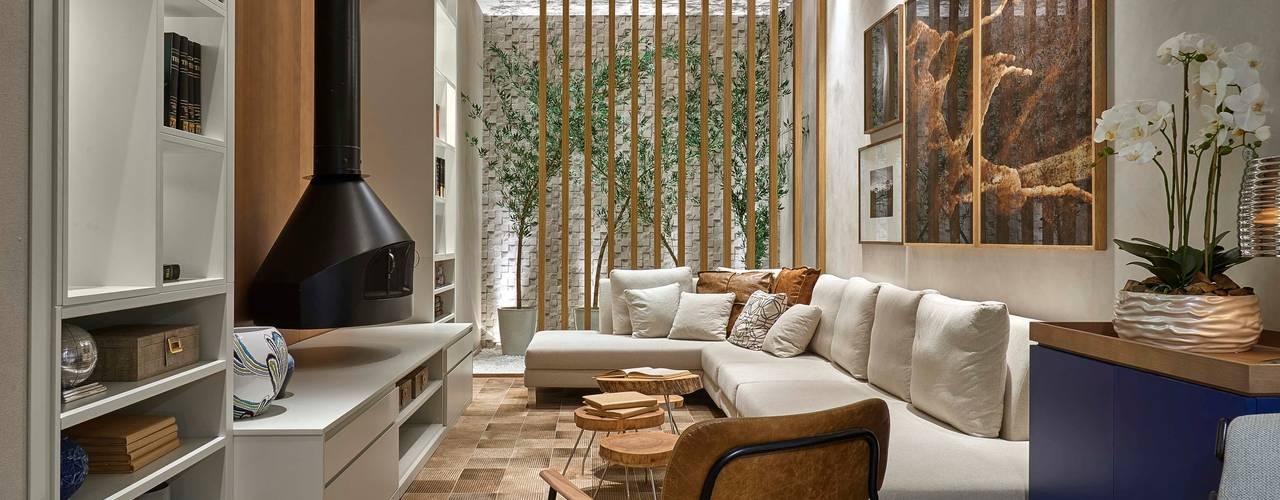 Decora Líder Belo Horizonte - Living da Lareira Salas de estar modernas por Lider Interiores Moderno