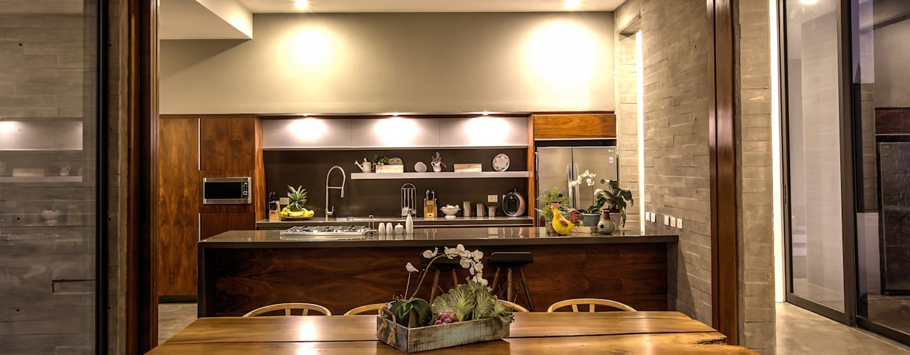 Cocinas de estilo  por ze|arquitectura