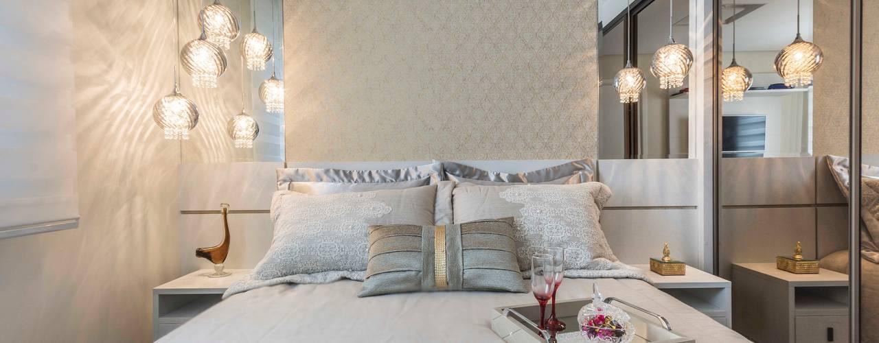 Спальни в . Автор – Silvana Borzi Design