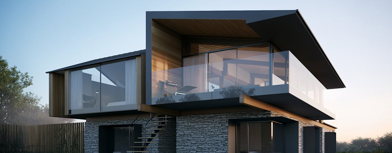 Silver House:   por Metro Cúbico Digital