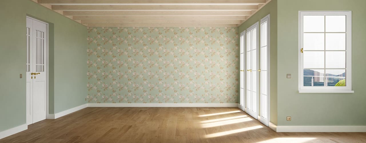 Living room by makasa, Scandinavian
