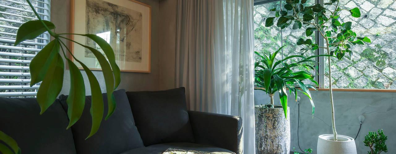 Ruang Keluarga Modern Oleh Nobuyoshi Hayashi Modern