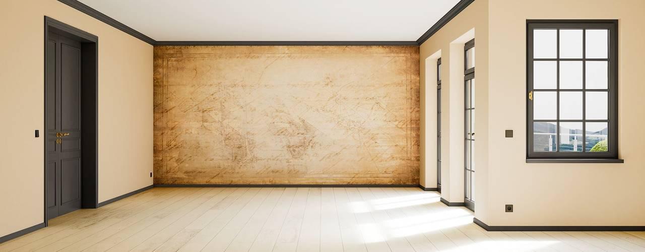 Scandinavian style living room by makasa Scandinavian